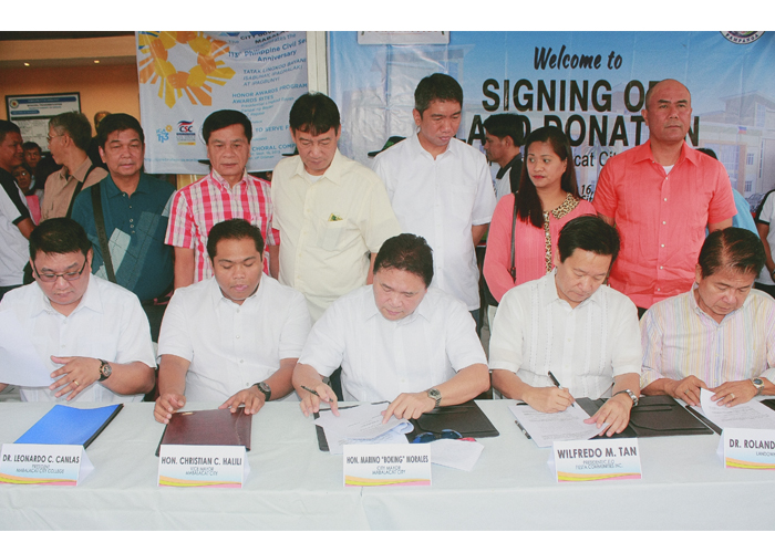 Mabalacat College gets land for satellite campus
