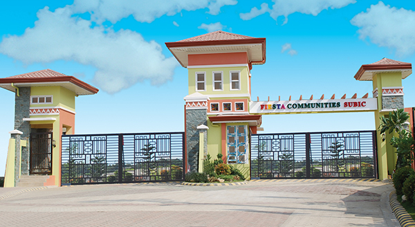 Fiesta Communities Subic Entrance Gate